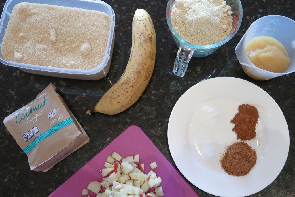 Breakfast Muffin Ingredients