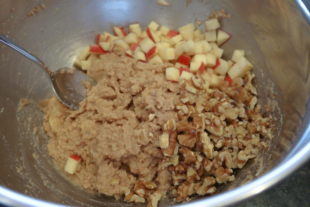 Breakfast Muffin Being Made